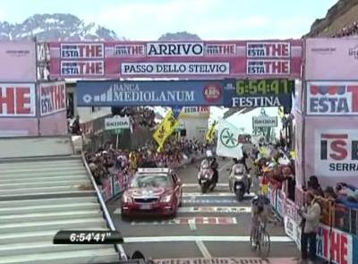 stelvio finish giro 2012